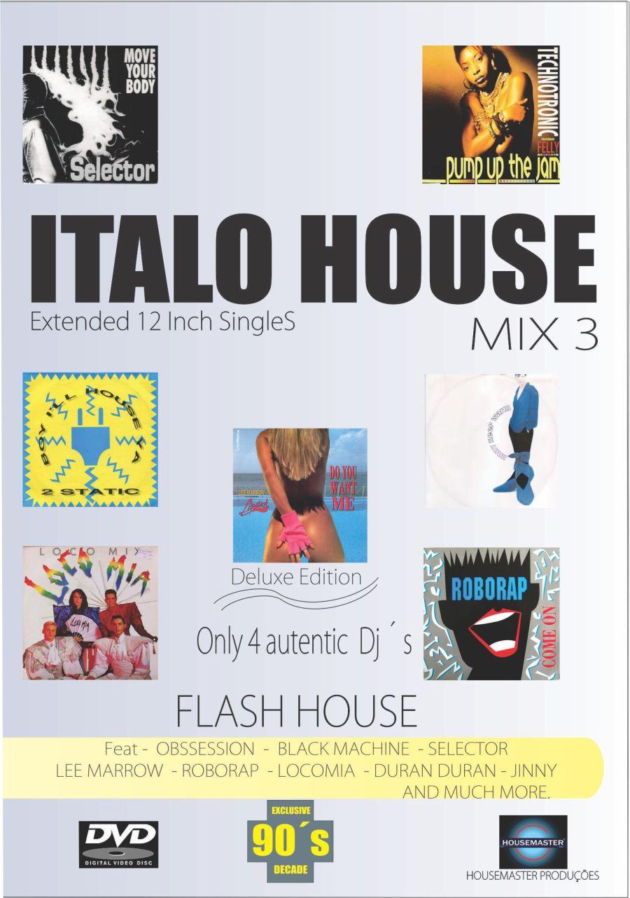 Dvd Italo House Mix 3 (frenteSlim)