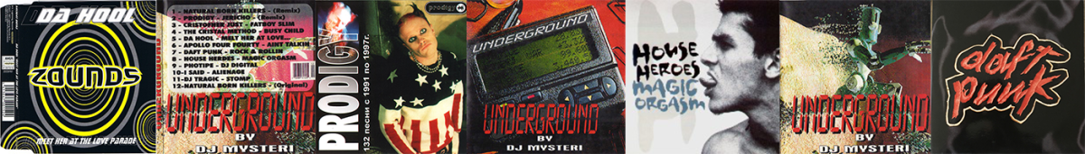 CD Underground (A Fake Record)
