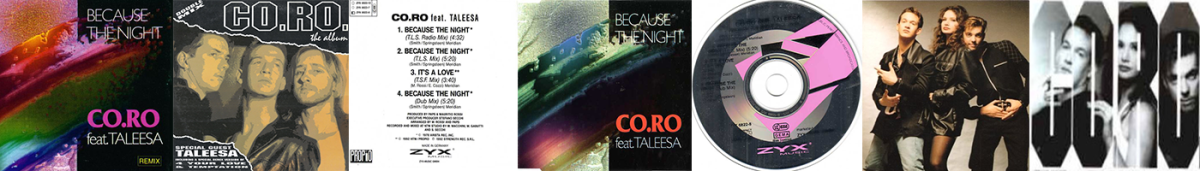 CO.RO Feat. Taleesa - Because The Night (CD Single)